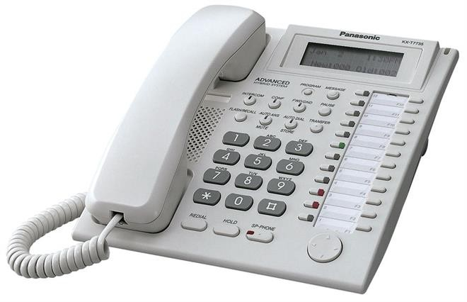 panasonic kx t7735 handset green telecom sustainable communication rh greentelecom co uk panasonic kx-t7735 user manual panasonic kx-t7735 user manual
